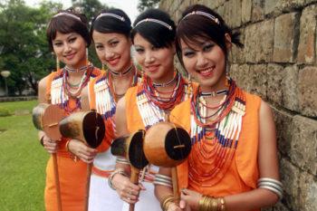 Yemshe Festival Kohima, Nagaland India