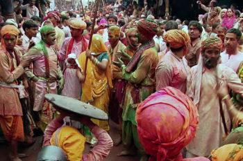 Lath Maar Holi, Mathura Uttar Pradesh