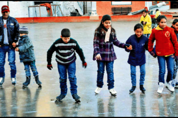 Ice Skating Carnival, Shimla Himachal Pradesh India