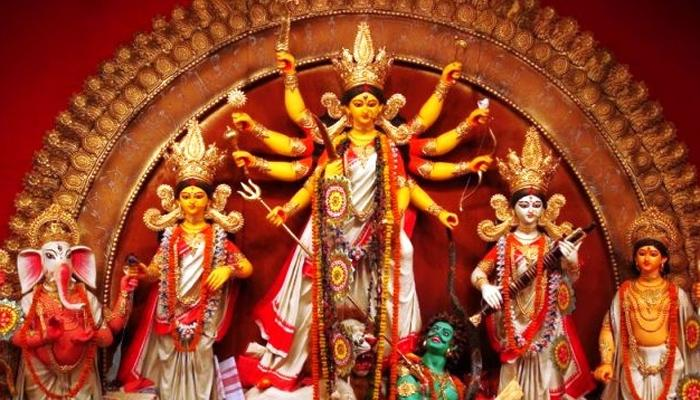 Durga Puja Indian Festival, Agartala Tripura India 2019